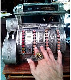 Процесс организации работы на кассовом аппарате